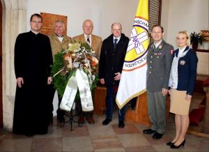 Martyrium im Alltag: Gedenken an den Gründer der Arbeitsgemeinschaft Katholischer Soldaten (AKS), Generalmajor Friedrich Janata