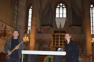 Orgel & Sax - ein beeindruckendes und hörenswertes Klangerlebnis in der St. Georgs Kathedrale an der Theresianischen Militärakademie