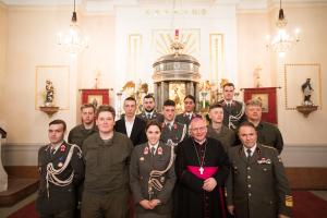 Soldatenfirmung in der Militärpfarre Wien