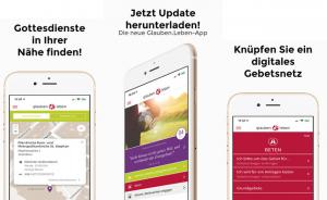 Neue Kirchen-App mit Weihnachtsgottesdiensten in ganz Österreich