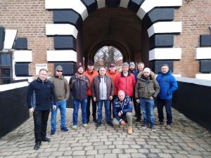 Kadertage der 2.Ausbildungskomopanie der Heerestruppenschule in Theresienstadt und Prag.