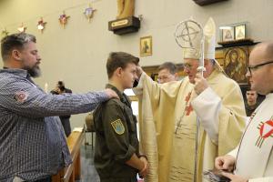 Soldatenfirmung mit Diözesanbischof Alois Schwarz in Allentsteig