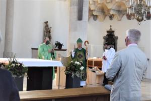 Christophorussonntag und Feier des 1. Welttages der Großeltern und älteren Menschen in der St. Georgs-Kathedrale in Wiener Neustadt