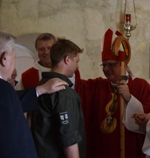 Soldatenfirmung in Scheiblingkirchen