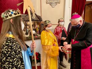 Bischof Freistetter: Engagement der Sternsinger in diesem Jahr besonders wichtig.