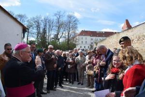 Wiener Neustadt: Öffnung und Segnung des Eleonorenweges