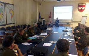 """Seminar """"Militärische Berufsethik"""""""