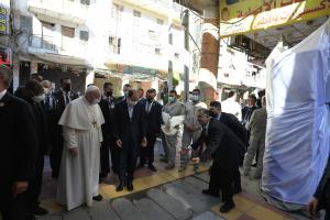 Papstreise: Österreichs Bischöfe fordern mehr Hilfe für den Irak