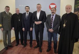 """""""Dialog der Religionen"""" im Verteidigungsministerium"""