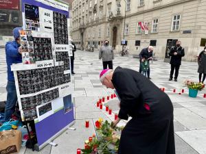 Wien: Starkes interreligiöses Zeichen für Frieden in Myanmar