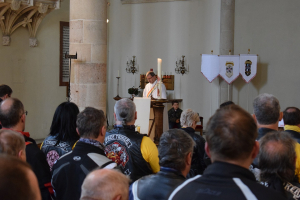Eröffnung der Bikersaison an der Theresianischen Militärakademie