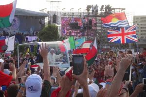 "Papst ermutigt in Panama Jugend zur ""Kultur der Begegnung"""