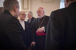Abschied von Nuntius Erzbischof Zurbriggen