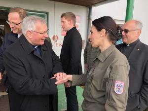 Sarajewo: Bischöfe besuchten österreichisches Eufor-Kontingent.