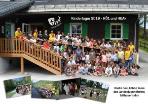 Kinderferienlager der Militärpfarre NÖ1 und der Militärpfarre HUAk