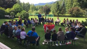Spiel, Spaß und jede Menge Abwechslung beim Kinderferienlager der Militärpfarre Niederösterreich 4 in Eben im Pongau!