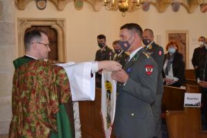 Wiener Neustadt: Ausmusterungsottesdienst für den Jahrgang Hauptmann Neusser