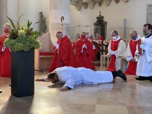 Wiener Neustadt: Militärbischof weihte Vizeleutnant Andreas Binder zum Diakon.