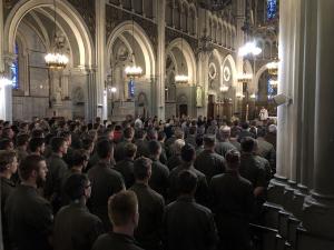 61. Internationale Soldatenwallfahrt in Lourdes ist eröffnet