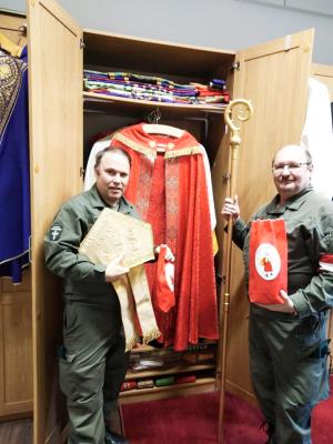 Der Nikolaus von Eisenstadt, der auch am Hl. Abend in der Kaserne ist...
