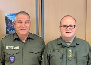 Pfarradjunkt Vizeleutnant Herbert Kraushofer geht in den Ruhestand