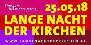 """Österreichs Kirchen laden am 25. Mai zur """"Langen Nacht"""""""