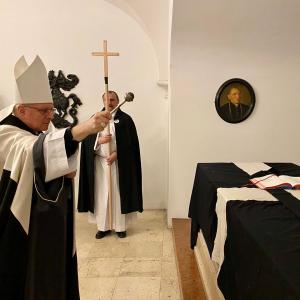 Wiener Neustadt: Requiem für den letztverstorbenen Militärbischof.
