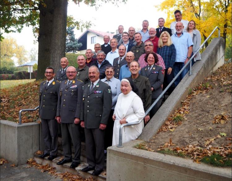 Herbstbesprechung der Arbeitsgemeinschaft Katholischer Soldaten (AKS) im Stift Geras