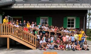 Alles im Zeichen der Spiele: Das Kinderferienlager 2019 in Hinterstoder